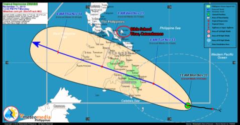 Typhoon Update – 30 November 2013