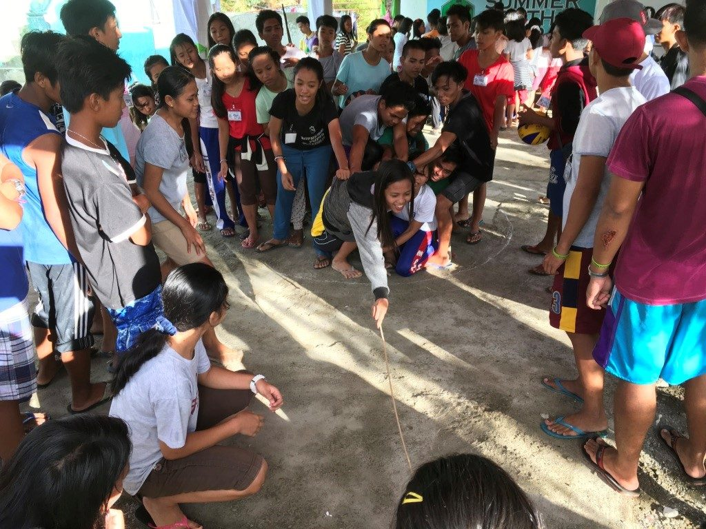 Games at the Virac Camp