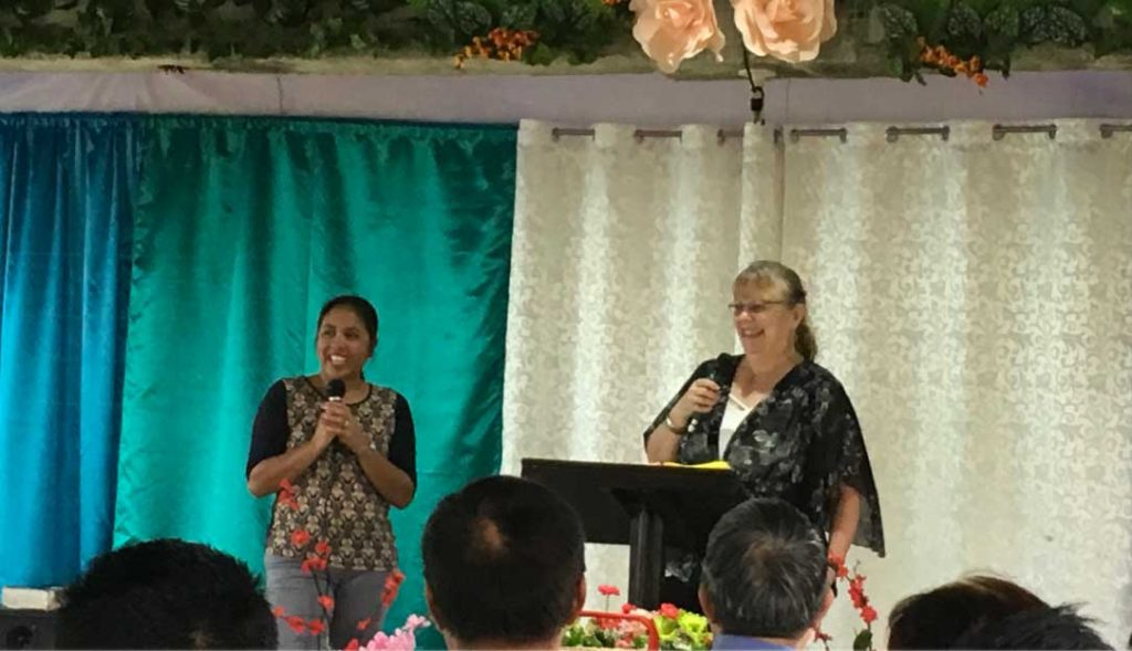 Lorrie Speaking in Virac