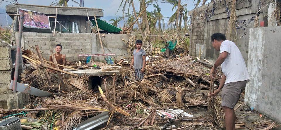 Super Typhoon Hits